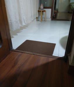Entrance door of the room