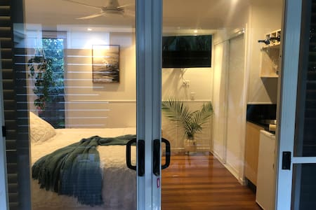 Large double sliding doors