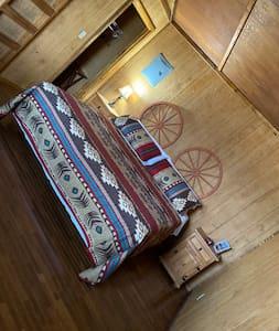 Plenty a room or a walker or Wheelchair