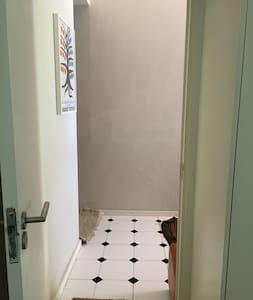 Entrance into main bedroom is 81cm wide
