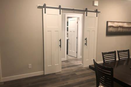 "Entrance into guest bedroom & bedroom - 37"" wide"