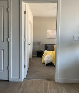Pathway to the bedroom is step free!