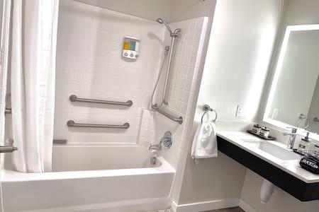 Fasta greppstänger för dusch