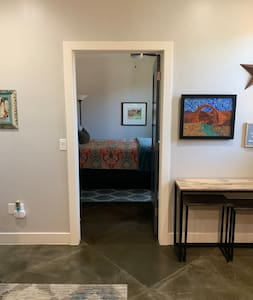 No stairs into bedroom