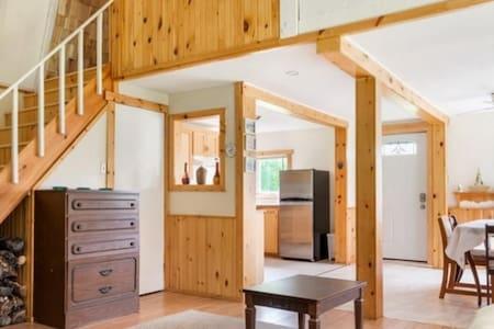 open concept main floor living