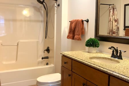 Fixed grab bars for shower