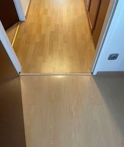 Sisäänkäynti on leveämpi kuin 81 cm