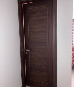 Proper Wooden Doors With Bolts & Handles Are Placed