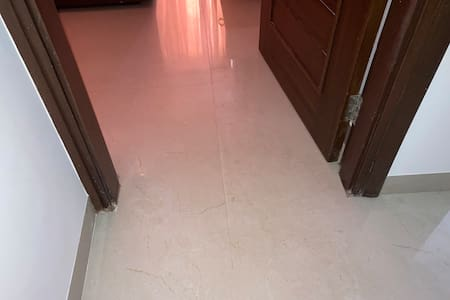 Within the home, tile is done which are perfectly aligned and flat.