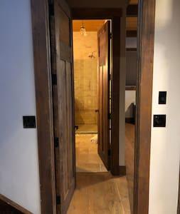 Main floor bedroom entrance