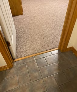 """Entrance to master bedroom. 30""""."""