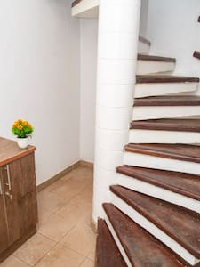 Staircase to the apartment