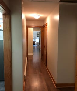 Hallway access to all bedrooms.