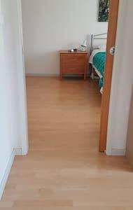 Internal door to the master bedroom.