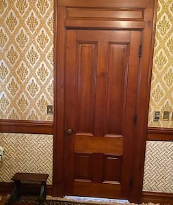 Gold Room door