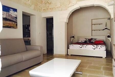 Nella foto notate l'unico ambiente che collega la stanza da letto con l'ingresso