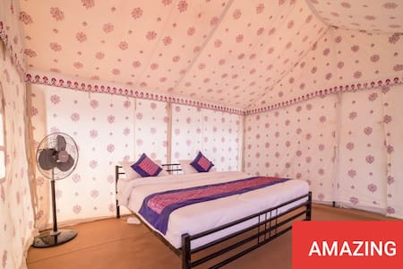 Swiss tent/rooms
