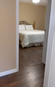flat entry to Master Bedroom.