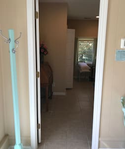 Bedroom door is 32 inches wide