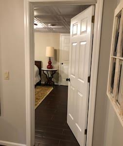Doorway to Bedroom 1