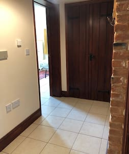 There are wide access doors to all rooms with no steps or slopes to negotiate.