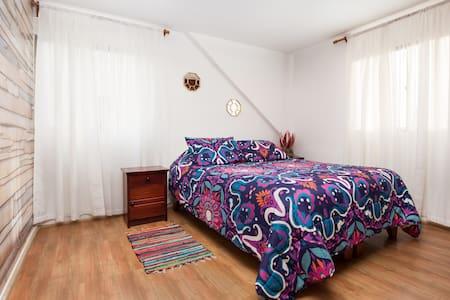 Dormitorio en segundo piso.