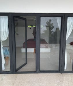 French doors that opens 2,5 m