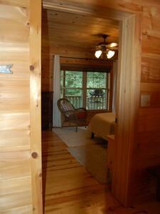 Master Bedroom entrance doorway, no steps
