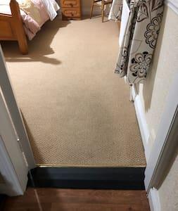 Doorway to main bedroom