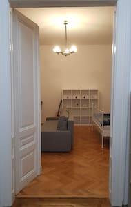 Wide bedroom entrance