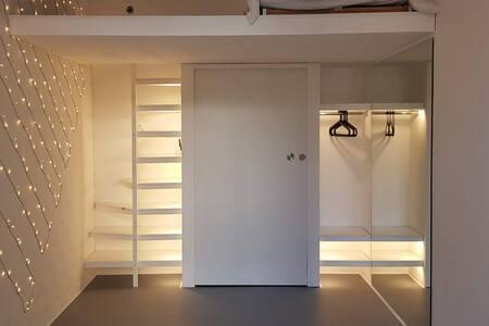 Step-free apartment.