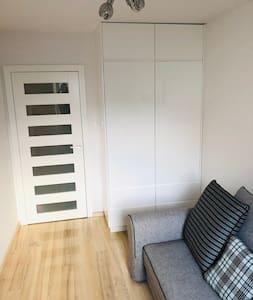Türen in der Wohnung sind alle gleich breit.