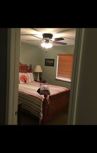 Bedroom to right