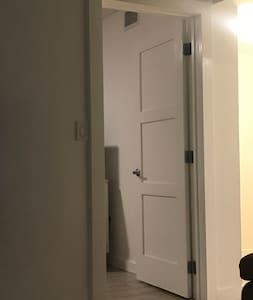 Master Bedroom's door