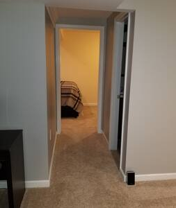 Entrance or doorway to the bedroom is at leat 36 inches wide.