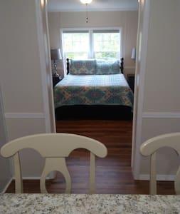 Entry door to bedroom 1 is 36 inches wide