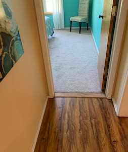 Entry into east bedroom