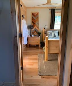 This is the main bedroom doorway, 32 inch's.