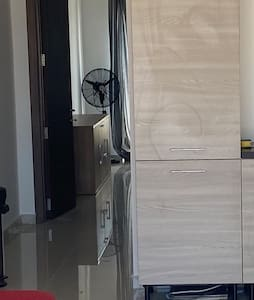 Apartment is at one level, no steps inside