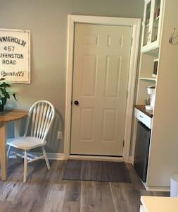 """33"""" door right into room."""