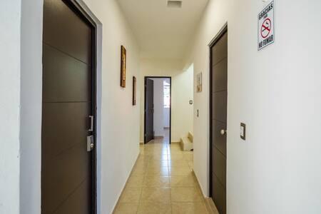 Las puertas de las habitaciones son suficientemente anchas 90cm