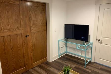 Oversized double doors