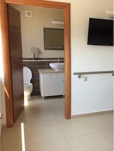 Large doorways throughout villa