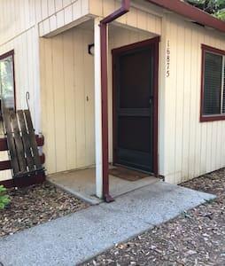 Front door/ no steps .