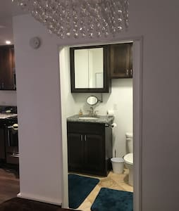 Entry into the bathroom