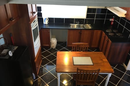Kitchen but apartment all flat no steps