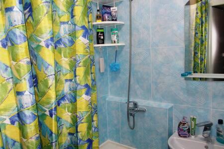 Elde tutulan duş başlığı