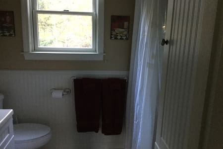 Extra ruimte rondom de douche
