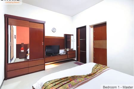 The Bedroom 1 has same elevation floor with outside