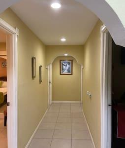 Corridor to each room